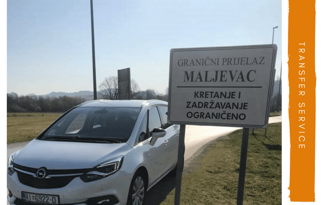 Taxi prijevoz Rijeka do granični prijelaz Maljevac